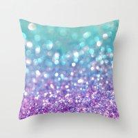 Tango Frost Throw Pillow