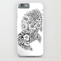 Floral Rabbit iPhone 6 Slim Case