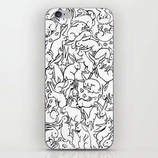 Bunny Pattern iPhone & iPod Skin