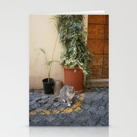 Roman Cat Stationery Cards