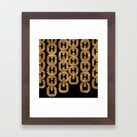 Fools Gold Framed Art Print