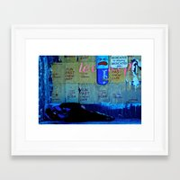 If I Could Shut Out The … Framed Art Print