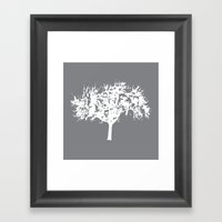 Reverse Tree Framed Art Print