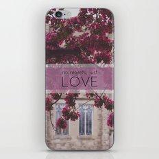 no regrets, just love iPhone & iPod Skin