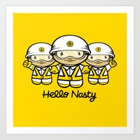 HELLO NASTY Art Print