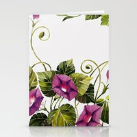 Morning Glory 2 Stationery Cards