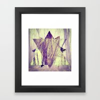 Branching. Framed Art Print