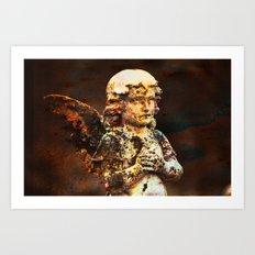 Lost Angel Art Print