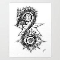 World Devourer Art Print