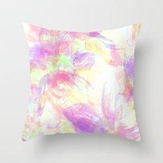 Happy Neons Throw Pillow