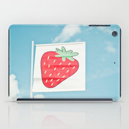 Strawberry Sky iPad Case