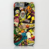 iPhone & iPod Case featuring Unexpected - Part III [Final Chapter: Space Riot] by Kirovt