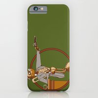 iPhone & iPod Case featuring The Windup Duelist by kevlar51