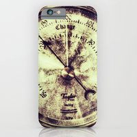 A Change In Weather  |  Antique Barometer iPhone 6 Slim Case