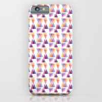 iPhone & iPod Case featuring retro triangle by Morgana Lamson