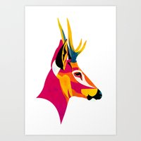 huemul Art Print