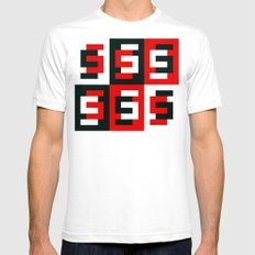 S6 Tee 7 by dabnotu Mens Fitted Tee White SMALL