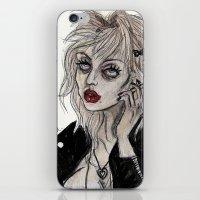 Courtney Love Cobain iPhone & iPod Skin
