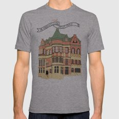 Archer Avenue Mens Fitted Tee Athletic Grey SMALL