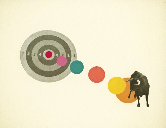 Bull's Eye : Taurus Art Print