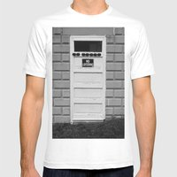 No Loitering Mens Fitted Tee White SMALL