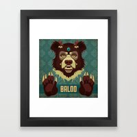 Baloo Framed Art Print