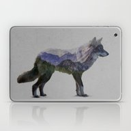 Laptop & iPad Skin featuring The Rocky Mountain Gray … by Davies Babies