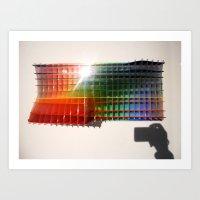 Rainbow Sculpture Art Print