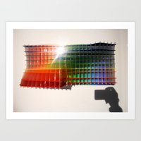 Rainbow Sculpture Art Print