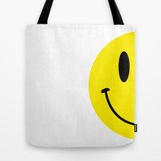 Half Smile (Right) Tote Bag