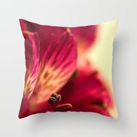 {lily the pink} Throw Pillow