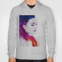 Color illusions Hoody