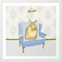 Just Chillin' Art Print