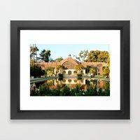 Balboa Park Framed Art Print