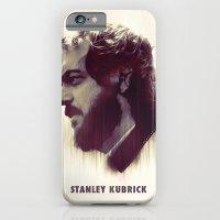 iPhone & iPod Case featuring Stanley Kubrick by Mahdi Chowdhury