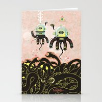 Over The Dragon Sea Stationery Cards