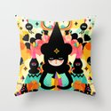 Magical Friends Throw Pillow