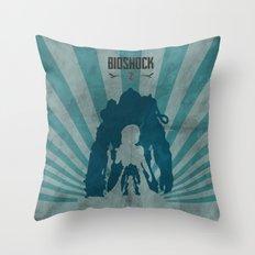 Bioshock 2 - Delta And E… Throw Pillow