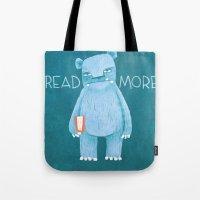 READ MORE BOOKS Tote Bag