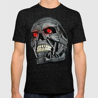 Termmunition   Mens Fitted Tee Tri-Black SMALL