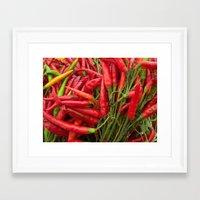 Red Peppers Framed Art Print