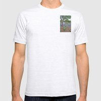 The fishing boat Mens Fitted Tee Ash Grey SMALL