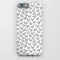 iPhone & iPod Case featuring Little Birdies Pattern by Stephanie Marie Steinhauer