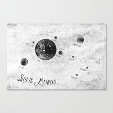 Solis Mundo II Canvas Print