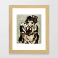 Tarjoilija Framed Art Print