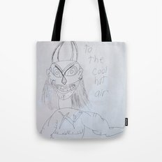 Demon by a 6 year old Tote Bag