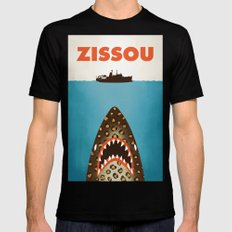 Zissou Mens Fitted Tee SMALL Black