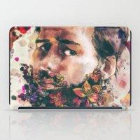a beard of flowers iPad Case