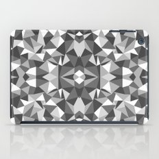 Abstract Colide Black and White iPad Case