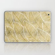 Laptop & iPad Skin featuring Tropical Gold by Cat Coquillette